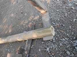 cara-membelah-bambu