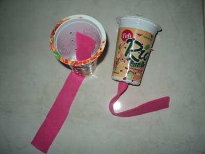pasang-kain-flanel-di-gelas
