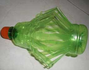 tekuk-dinding-botol-lampu